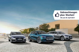 Sichern Sie sich junge Audi Gebrauchtwagen mit attraktiven Konditionen!