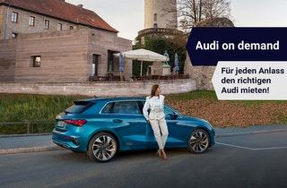 Mit Audi on Demand.