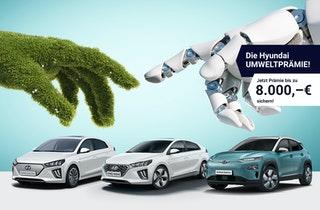 Beim Kauf eines Hyundai KONA Elektro, IONIQ Elektro oder IONIK Hybrid.